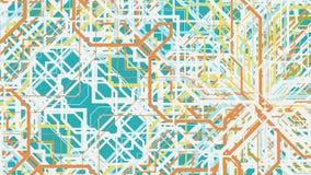 3d abstracte achtergrond render Royalty-vrije Stock Afbeelding
