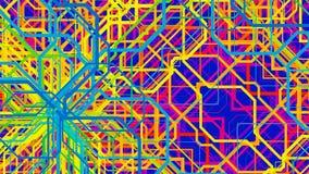 3d abstracte achtergrond render Stock Afbeeldingen