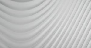 3D Abstracte Achtergrond van Grey White Curve Lines, illustratie Royalty-vrije Stock Foto's