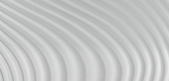 3D Abstracte Achtergrond van Grey White Curve Lines, illustratie Stock Foto's