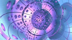 3d abstracte geometrische vormen Stock Foto