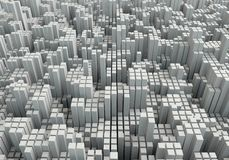 3D abstractie Stock Afbeelding