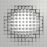 3D abstractie Stock Fotografie