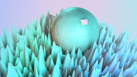 3D abstraction background Stock Images