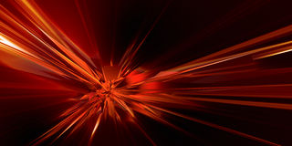 3D abstraction. Looks like explosion Royalty Free Stock Photos