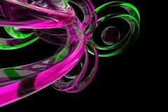3d abstracto rindió el fondo libre illustration