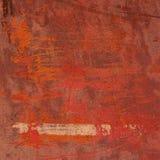 3d abstraem o fundo cor-de-rosa alaranjado vermelho da parede do grunge Fotografia de Stock Royalty Free