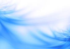 D'abstrait fond bleu brillamment Photographie stock