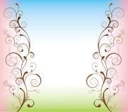 D'abstrait fond swirly Image stock