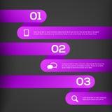 3D abstrait Infographics Images libres de droits