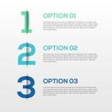 3D abstrait Infographics Photographie stock libre de droits