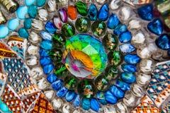 3d abstrakcjonistyczny tła piłki szkło Zdjęcie Stock