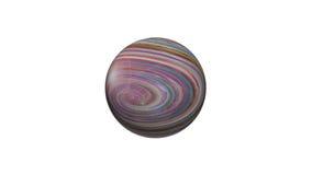 3D abstrakcjonistyczny wizerunek planeta, morza i oceany planety ziemi, Zdjęcia Stock