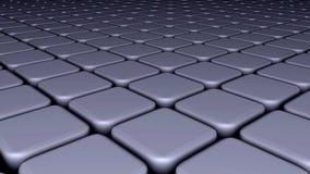 3 d abstrakcyjne tło białe blokuje Obraz Stock