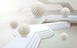 3d abstrakta ?ciany dekoracja w max rozmiarze royalty ilustracja