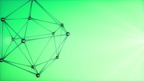 3d abstrakta atom ilustracja wektor