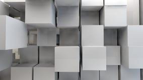 3d abstrato cuba o labirinto Imagem de Stock Royalty Free