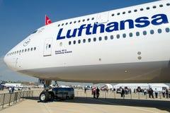 D-ABYQ Люфтганза Боинг 747-830 Стоковые Фотографии RF