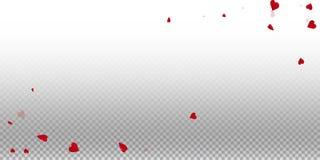 3d achtergrond van de hartenvalentijnskaart Stock Fotografie
