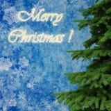 3d achtergrond van Kerstboomdecoratie Royalty-vrije Stock Fotografie