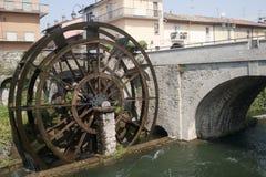 d'Adda di Groppello, rotella antica Immagine Stock Libera da Diritti