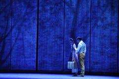 D'adieu-Le acte en second lieu des événements de drame-Shawan de danse du passé Photos libres de droits