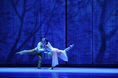 D'adieu-Le acte en second lieu des événements de drame-Shawan de danse du passé Image stock