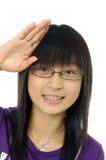 d'adolescent asiatique Photographie stock