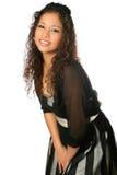 D'adolescent ethnique dans la robe formelle Photos stock