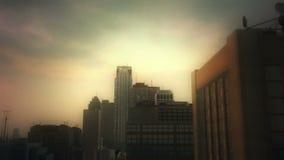 3d aerial city