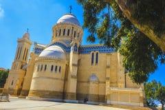D'Afrique de Notre Dame de basilique Image libre de droits
