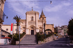 D'Agira de Chiesa Reale Abbazia di San Filippo Fotografía de archivo libre de regalías