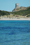 d'Agnello da opinião e da excursão do mar, Córsega Imagem de Stock