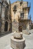 D'Agro de Forza, Sicilia Imagen de archivo libre de regalías