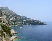 D'Ail de chapeau (Cote d'Azur) Photos libres de droits