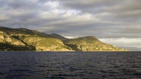 d'Ail del casquillo de Eze de la costa costa Fotos de archivo