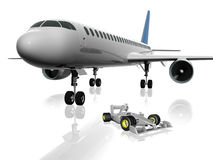 3d airplane Stock Images