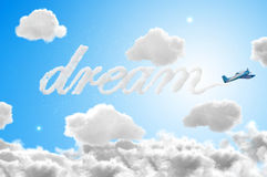 3D Dream travel Stock Photo