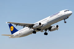 D-AISL Lufthansa, Airbus A321-231 Fotografia de Stock