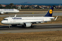 D-AIUB Lufthansa, Airbus A320-200 Stock Photography