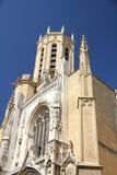 d'Aix de Saint-Sauveur da catedral em Aix-en-Provence Foto de Stock Royalty Free
