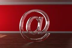 3D al simbolo Fotografia Stock Libera da Diritti