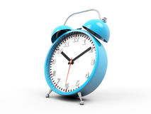 3d alarm clock Stock Photo