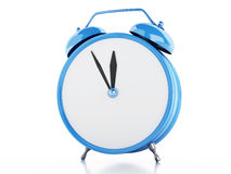 3d Alarm clock Royalty Free Stock Images