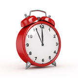 3d Alarm Clock (Perspective View)  -  Royalty Free Stock Photo