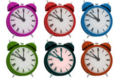 3d alarm clock Royalty Free Stock Image
