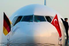 D-ALCE汉莎航空公司麦克当诺道格拉斯公司MD-11F MERHABA土耳其 库存图片