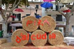 D'Alcudia di Fira Fotografia Stock