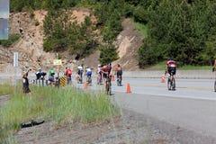 D'Alene Ironman de Coeur Fotografia de Stock Royalty Free