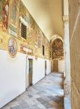 D'Alessandria Базилики di Санты Caterina Galatina, Apulia, Италия Стоковое фото RF